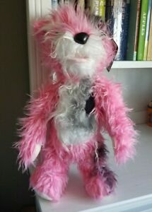 "Breaking Bad Pink Teddy Bear 18"" plane crash  - Rare  - Mezco Toys 2014"