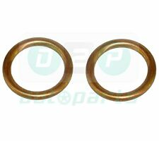 FOR VOLVO CITROEN PEUGEOT COPPER RING WASHER OIL SUMP PLUG SEAL GASKET x2