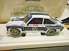 FORD Escort MKII RS 1800 Zakspeed DRM 1976 #32 Ludwig Europa SP Minichamps 1:18