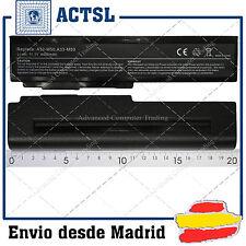 BATERIA para ASUS N61Jq 15G10N373830 11.1V 4400mAh 6cells