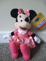 DISNEY MICKEY MOUSE CLUBHOUSE- MINNIE MOUSE Plush Soft Doll Toy 20cm BNWT Minnie