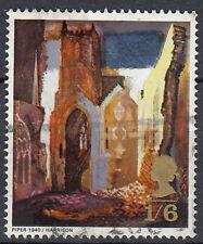 Großbritannien England gestempelt Gemälde Malerei Kunst Zeichnung / 538