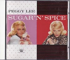 Sugar 'n' Spice by Peggy Lee (Vocals) (CD, Jan-2001, Blue Note (Label))