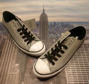 Converse Chuck Taylor All Star Ox Low Top Silver Reflective Size 9.5 150936c New
