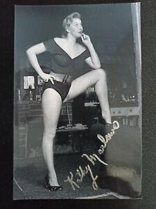 "Kathy Marlowe ""Highway Patrol - Ozzie & Harriet"" original Autogramm - signed"