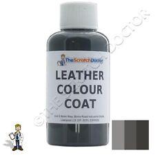 Color Gris Oscuro de Cuero de abrigo Tinte para Mercedes. Kit de reparación y restauración colorante
