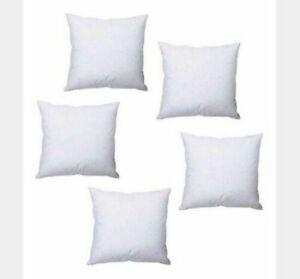 """Hollowfibre Filling Polyester Cushion Inner Insert Scatter 8"""" x 8"""" (20cm x 20cm)"""