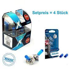 H7 XENON GLÜHLAMPEN  9500K  BLUETECH Extrem Blue Xenon+ W5W PHILIPS WhiteVision