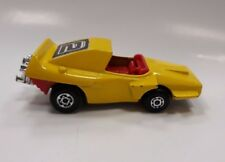 Vintage Old Sport Toy Car Matchbox #58 Superfast Dragster 1972 Woosh-N-Push