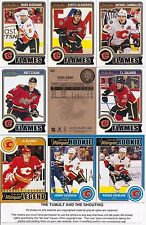 2014-15 OPC O-Pee-Chee Calgary Flames Master Team Set Sticker (24)