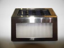 Sensor LED Energía solar Camino Luz Del Jardín Lámpara de Pared al Aire Libre De Garaje Impermeable UK