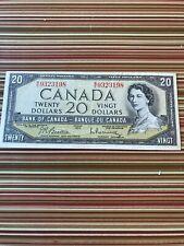 canada $20 bill--- ---1954