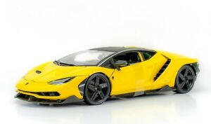 Lamborghini Centenario Yellow 1:18 Model Car Maisto Special Edition, New