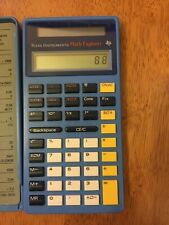Texas Instruments Math Explorer Solar Calculator