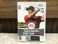 Tiger Woods PGA Tour 08 Nintendo Wii Game NO Manual Tested FREE SHIPPING #2