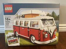 LEGO Creator Volkswagen T1 Camper Van (10220) NIB Retired Rare