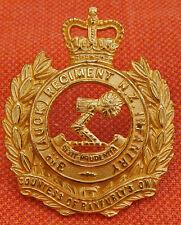 3rd Auckland INFANTRY Regt NEW ZEALAND Army Officer FIRE GILT Cap Badge JR GAUNT