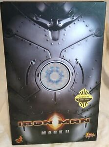 Hot Toys Iron Man Mark II MMS78 Sideshow  Exclusive 9030981 Mint In Mint Box
