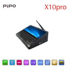 10.8 Inch 1920*1280 PIPO X10 Pro Mini PC Windows 10 Android 5.1 TV Box Z8350 Qua