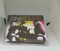 Madonna - Give It 2 Me Edit 1 Track Promo CD Single Rare