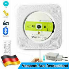 Tragbarer Bluetooth MP3 Spieler CD Player USB Lautsprecher Musik Player DE
