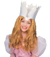 The Wizard Of Oz Glinda Deluxe Costume Accessory Long Wavy Auburn Wig Rubies