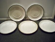 5 MIDWINTER WILD OATS STONEHENGE SAUCERS  6''