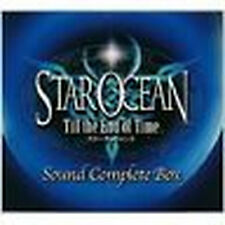 Star Ocean Game Music Soundtrack Japanese Cd Till the End of Tim Vol.1