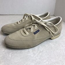 Bowling Shoes Vintage Womens Brunswick Suede Leather Retro Size 8.5