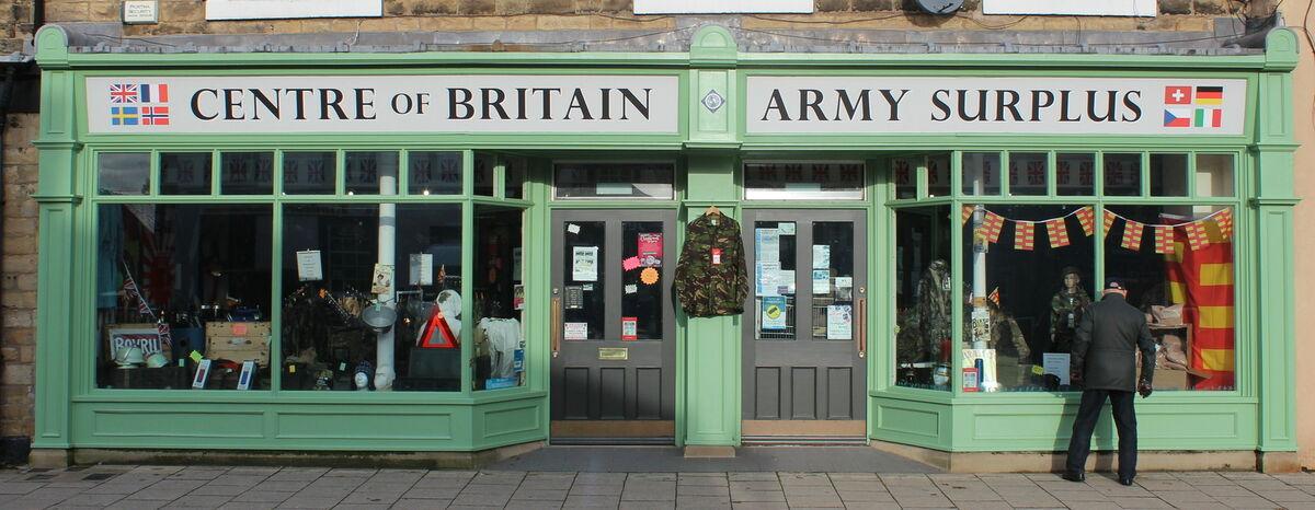 CENTRE of BRITAIN ARMY SURPLUS