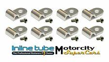 "3/16"" Stainless Steel Brake Line Clamps Clips Screws Streetrod Ratrod Hotrod 16p (Fits: Oldsmobile)"