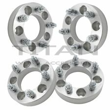 "(4) 32mm Wheel Adapters 5x4.75 to 5x4.5 1.25"" THICK 5x120.7 to 5x114.3 Spacers"