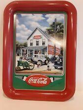 Original Coca-Cola / John Deere Metal Tray. 17in. x 12in. Made in the U.S.A.