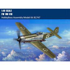 HobbyBoss 81747 1/48 Scale FW190 V18 Fighter Plastic Assembly Aircraft Model Kit