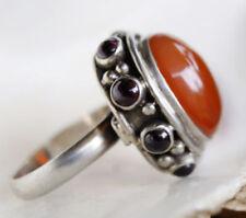Ringe mit Achat echten Edelsteinen aus Sterlingsilber für Herren