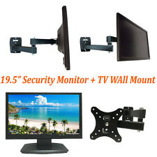 """101AV 19.5"""" Security Monitor 1080P HD HDMI Looping BNC Output Input & Wall Mount"""