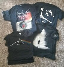 Roger Waters Pink Floyd lot of 4 Shirts 2006 & 2012 Tour The Wall,Dark Side Moon
