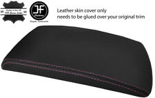 PINK STITCHING REAL LEATHER ARMREST LID COVER FITS BMW X3 E83 2003-2010