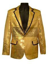 Elvis Presley 1968 Comeback Gold Lame Costume Jacket Sz S / M / L / XL /XXL/3XL