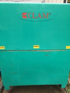 Clam C100E Industrial Auto Part Washer Cabinet Solvent Tank Vehicle Part Cleaner