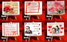 LIEBES- Staffelei zur Liebeserklärung Valentinstag
