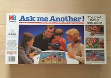 Ask Me Another MB Games 1984 Retro Family Board Quiz Game Age 8+ Complete VGC