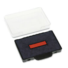 Identity Group Trodat T5460 Dater Replacement Ink Pad, 1 3/8 X 2 3/8, Blue/Red