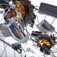 Motorcycle Alarm Disc Lock Brake Security Disk Rotor Dirt bike road bicycle