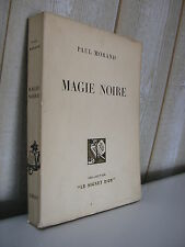 PAUL MORAND : MAGIE NOIRE Flammarion 1930 frontispice bandeaux RENEFER