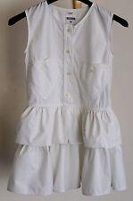 Vestito bambina taglia 28 Moschino originale, smanicato, bianco, come nuovo
