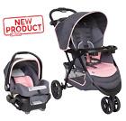 Baby Car Seat Stroller Combo Set Baby Infant Kid Newborn Safe Travel System Pink