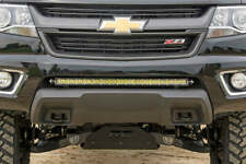 "Rough Country 30"" LED Bumper Brackets (fits) 2015-2020 Chevy Colorado GMC Canyon"