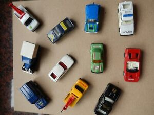 Bundle of toy cars eleven in all