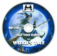 The WITCH'S TALE - Old Time Radio (OTR) Horror (mp3 CD) ScARy WiTcHeS sToRiES